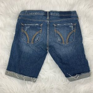 Hollister Shorts - Hollister Distressed Jean Shorts Size 1